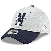 New Era Men's Dallas Cowboys Grey Sideline 2021 Training Camp 39Thirty Stretch Fit Hat