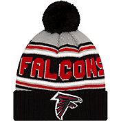 '47 Men's Atlanta Falcons Black Cuffed Cheer Knit Beanie