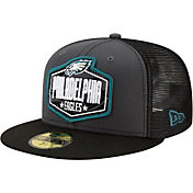 New Era Men's Philadelphia Eagles 2021 NFL Draft 59Fifty Graphite Fitted Hat