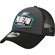 New Era Men's Philadelphia Eagles 2021 NFL Draft 9Forty Graphite Adjustable Hat
