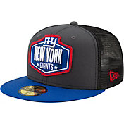 New Era Men's New York Giants 2021 NFL Draft 59Fifty Graphite Fitted Hat