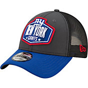 New Era Men's New York Giants 2021 NFL Draft 9Forty Graphite Adjustable Hat