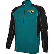 New Era Men's Jacksonville Jaguars 2 A Days ¼ Zip