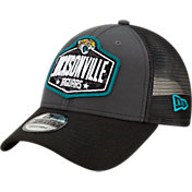 New Era Men's Jacksonville Jaguars 2021 NFL Draft 9Forty Graphite Adjustable Hat