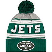 '47 Men's New York Jets Green Cuffed Cheer Knit Beanie