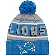 '47 Men's Detroit Lions Blue Cuffed Cheer Knit Beanie