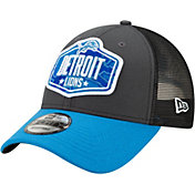 New Era Men's Detroit Lions 2021 NFL Draft 9Forty Graphite Adjustable Hat