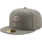 New Era Men's Green Bay Packers Color Pack 59Fifty Grey Fitted Hat