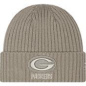 New Era Men's Green Bay Packers Core Classic Grey Knit