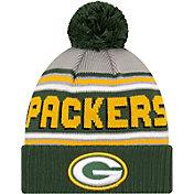 '47 Men's Green Bay Packers Green Cuffed Cheer Knit Beanie