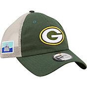 New Era Men's Green Bay Packers Flag 9Twenty Green Trucker Hat