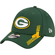 New Era Men's Green Bay Packers Sideline 2021 Home 39Thirty Green Stretch Fit Hat
