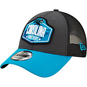 New Era Men's Carolina Panthers 2021 NFL Draft 9Forty Graphite Adjustable Hat