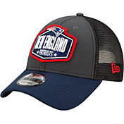 New Era Men's New England Patriots 2021 NFL Draft 9Forty Graphite Adjustable Hat