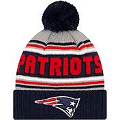 '47 Men's New England Patriots Navy Cuffed Cheer Knit Beanie