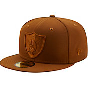 New Era Men's Las Vegas Raiders Color Pack 59Fifty Peanut Fitted Hat