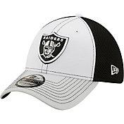 New Era Men's Las Vegas Raiders Team Neo 39Thirty White Stretch Fit Hat