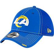 New Era Men's Los Angeles Rams Neo Flex Blue Stretch Fit Hat