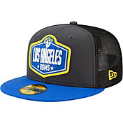 New Era Men's Los Angeles Rams 2021 NFL Draft 59Fifty Graphite Fitted Hat