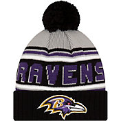 '47 Men's Baltimore Ravens Black Cuffed Cheer Knit Beanie