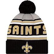 '47 Men's New Orleans Saints Black Cuffed Cheer Knit Beanie
