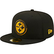 New Era Men's Pittsburgh Steelers Scored 59Fifty Black Fitted Hat