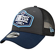 New Era Men's Tennessee Titans 2021 NFL Draft 9Forty Graphite Adjustable Hat