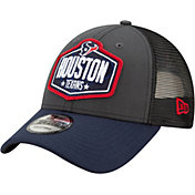 New Era Men's Houston Texans 2021 NFL Draft 9Forty Graphite Adjustable Hat
