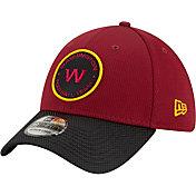 New Era Men's Washington Football Team Sideline 2021 Road 39Thirty Red Stretch Fit Hat