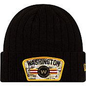 New Era Men's Washington Football Team Salute to Service Black Knit
