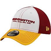 New Era Men's Washington Football Team Team Neo 39Thirty White Stretch Fit Hat
