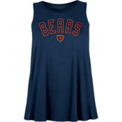 New Era Women's Chicago Bears Rayon Spandex Navy Tank Top