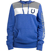 New Era Women's Indianapolis Colts Fleece Blue Pullover Hoodie