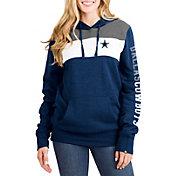 New Era Women's Dallas Cowboys Fleece Navy Pullover Hoodie