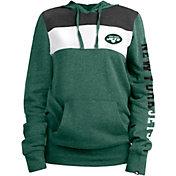 New Era Women's New York Jets Fleece Green Pullover Hoodie
