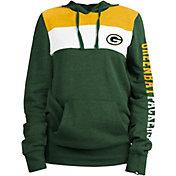 New Era Women's Green Bay Packers Fleece Green Pullover Hoodie