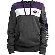 New Era Women's Baltimore Ravens Fleece Black Pullover Hoodie