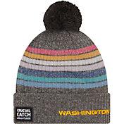 New Era Women's Washington Football Team Crucial Catch Grey Knit