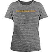 New Era Women's Washington Football Team Space Dye Grey T-Shirt