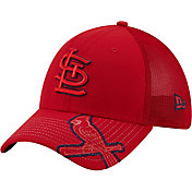 New Era Youth St. Louis Cardinals Navy 39Thirty Stretch Fit Hat