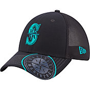 New Era Youth Seattle Mariners Navy 39Thirty Stretch Fit Hat