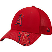New Era Youth Los Angeles Angels Red 39Thirty Stretch Fit Hat