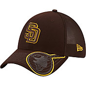 New Era Youth San Diego Padres Brown 39Thirty Stretch Fit Hat