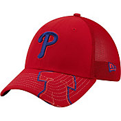 New Era Youth Philadelphia Phillies Red 39Thirty Stretch Fit Hat