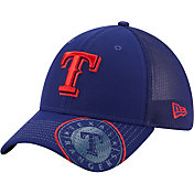 New Era Youth Texas Rangers Blue 39Thirty Stretch Fit Hat