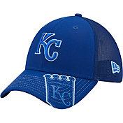 New Era Youth Kansas City Royals Blue 39Thirty Stretch Fit Hat