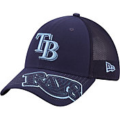 New Era Youth Tampa Bay Rays Navy 39Thirty Stretch Fit Hat