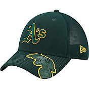 New Era Youth Oakland Athletics Green 39Thirty Stretch Fit Hat