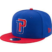 New Era Youth Detroit Pistons Blue 9Fifty Adjustable Hat
