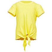 Sofibella Girls' Short Sleeve Tie Tennis T-Shirt
